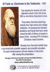 Creation Evolution and Science Ministries - 50 Facts vs Darwinism In The Textbooks