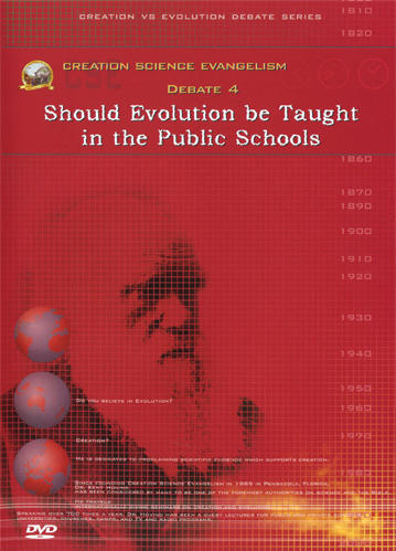 Creation Science Evangelism - Kent Hovind - Debate 04 - Should Evolution be Taught in the Public Schools