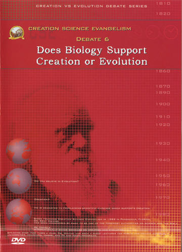 Creation Science Evangelism - Kent Hovind - Debate 06 - Does Biology Support Creation or Evolution
