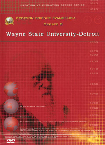 Creation Science Evangelism - Kent Hovind - Debate 08 - Wayne State University - Detroit