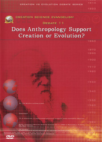 Creation Science Evangelism - Kent Hovind - Debate 11 - Does Anthropology Support Creation or Evolution