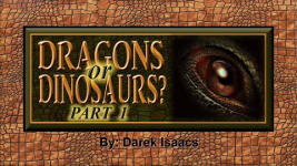 Origins - 1405 Dragons or Dinosaurs - Part 1